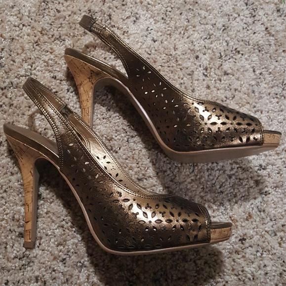 71d21a9e35 Audrey Brooke Shoes | Sling Back Stilettos | Poshmark